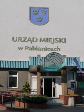 Budynek Urzędu Miejskiego w Pabianicach