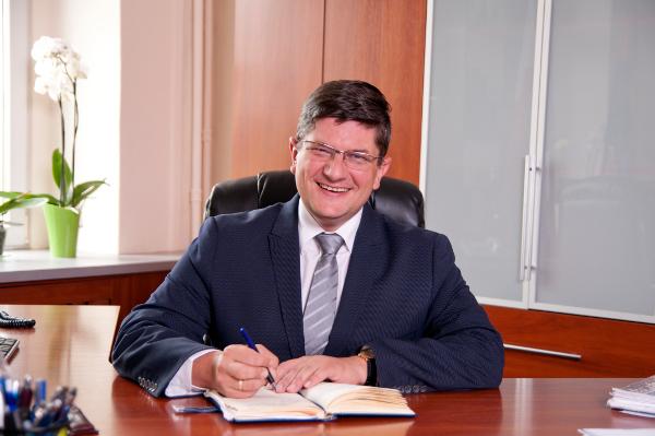 Prezydent Miasta Pabianic Grzegorz Mackiewicz